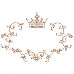 GREAT PROVENCE FRAME WITH CROWN