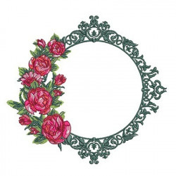 LARGE PROVENCE FRAME WITH ROSES