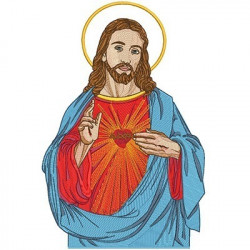 SACRED HEART OF JESUS 43 CM
