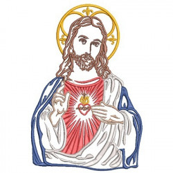 SACRED HEART OF JESUS 20 CM
