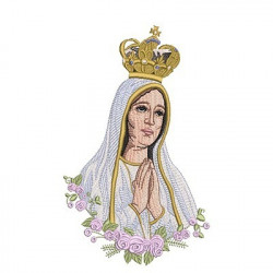 OUR LADY OF FATIMA 24 CM