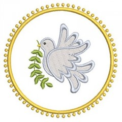 PEACE DOVE MEDAL