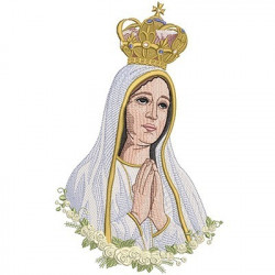 OUR LADY OF FATIMA 27 CM
