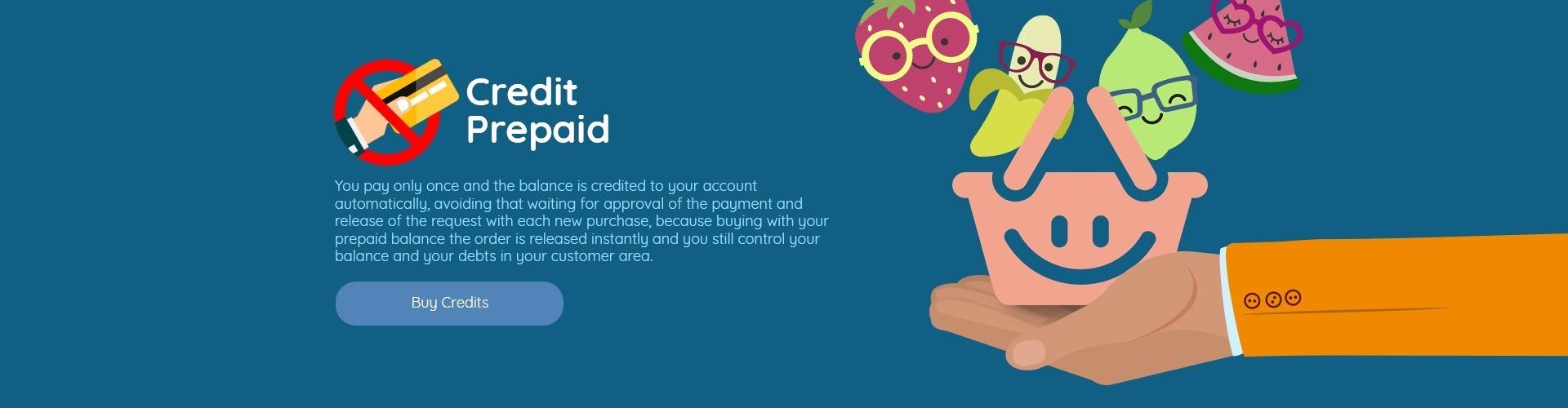 Prepaid credit