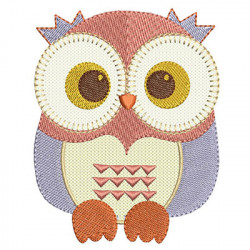 OWL APPLIQUE 2