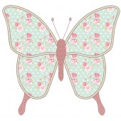 APPLIQUE BUTTERFLY 20CM