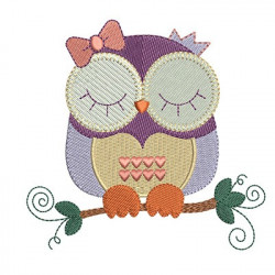 OWL IN TWIG 3