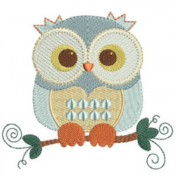 OWL IN TWIG 2