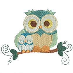 OWL FATHER AND SON
