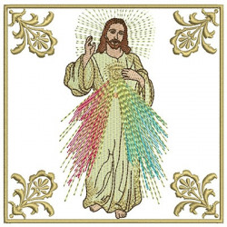 EMBROIDERED ALTAR CLOTHS MERCIFUL JESUS 101