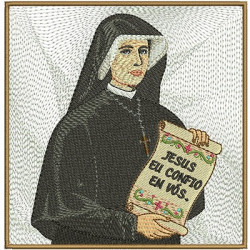 EMBROIDERED ALTAR CLOTHS FAUSTINA 102 January 2016