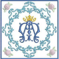 EMBROIDERED ALTAR CLOTHS MARIAN 85