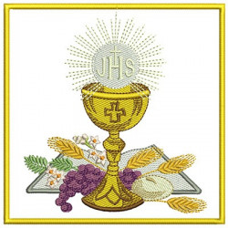 EMBROIDERED ALTAR CLOTHS COMMUNION 99