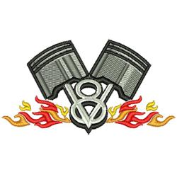MOTOR DE LLAMA V8