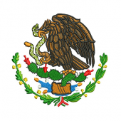 MEXICAN EAGLE 10 CM