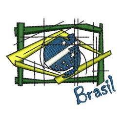 BRASIL ESTILIZADA 7 CM