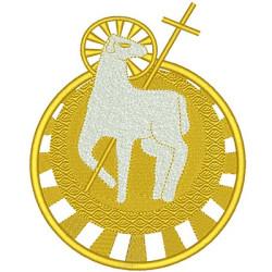 LAMB 16.5 CM GOLDEN DELICATE