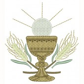 CHALICE WITH CONSECRATED 10 CM