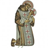SAINT FRANCIS OF ASSIS 24 CM