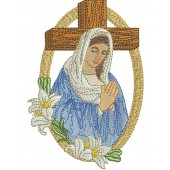 OUR LADY OF GRACE 12 CM