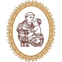 MEDALLA DE SAN ANTONIO 15 CM MARCOS RELIGIOSOS