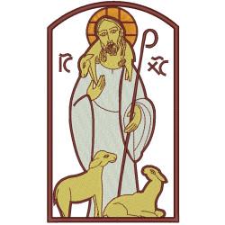 JESUS BOM PASTOR 18 CM