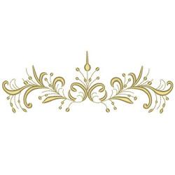 GOLDEN FLORAL 20 CM