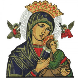 OUR LADY OF PERPETUAL HELP WITH 20 CM COMPLETE
