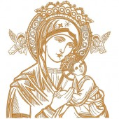 OUR LADY OF PERPETUAL HELP WITH 20 CM COMPLETE 2