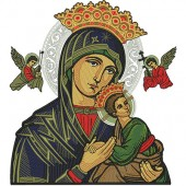 OUR LADY OF PERPETUAL HELP WITH 20 CM COMPLETE 4