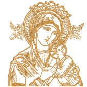 OUR LADY OF PERPETUAL HELP WITH 17 CM COMPLETE 4