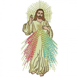 MERCIFUL JESUS 14CM