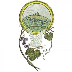 DIVINE GRAPES AND FISH