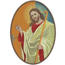 JESUS BATE À PORTA