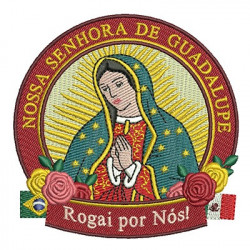 SHIELD OUR LADY OF GUADALUPE April