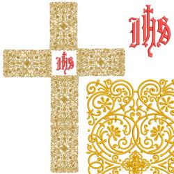SET CROSS GOLDEN 85 CM