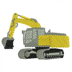 EXCAVATOR 7 CM - 2 MACHINES AND TRACTORS
