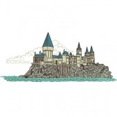 CASTLE HARRY POTTER 22 CM