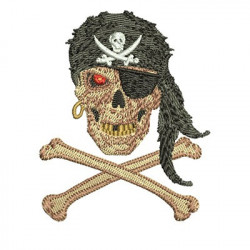 SKULL PIRATE 8 CM May 2015