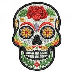 SKULL MEXICAN 8 CM