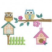 OWLS AND COTTAGES APPLIED