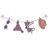 NAUTICAL GIRL CLOTHES LINE 1