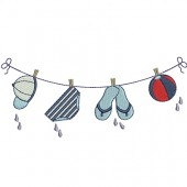 NAUTICAL BOY CLOTHES LINE 2
