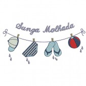 CLOTHES LINE SUNGA WET 2