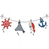 NAUTICAL GIRL CLOTHES LINE 2