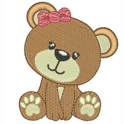 BABY BEAR TIE GIRL