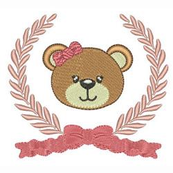 FRAME WITH BEAR GIRL10 CM