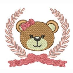 FRAME WITH BEAR GIRL 7 CM