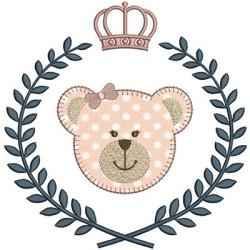 URSA APPLICATION IN FRAME 20 CM WITH BEARS & FEMALE BEARS