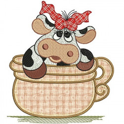 COW IN CUP APPLIED